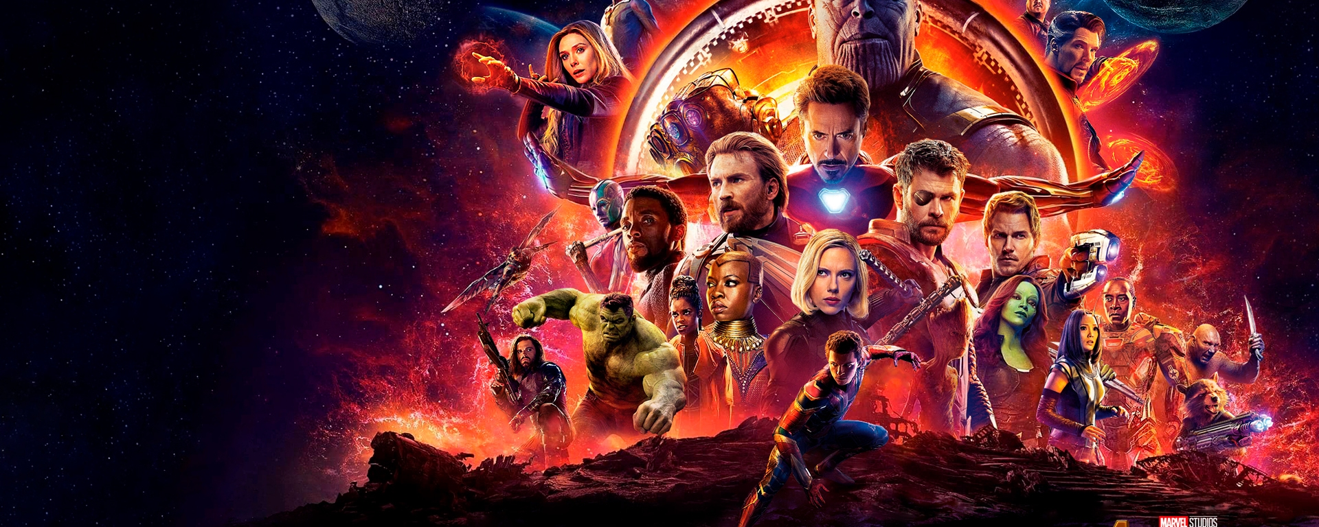 1er Wallpaper – Avengers: Infinity War